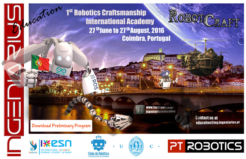 RobotCraft 2016 - Inscrições Abertas