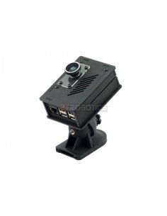Nwazet Pi Camera Box Bundle (Case, Lens & Wall Mount) - B+/2/3