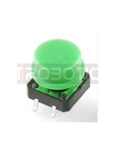 Tactile Button 12mm Green