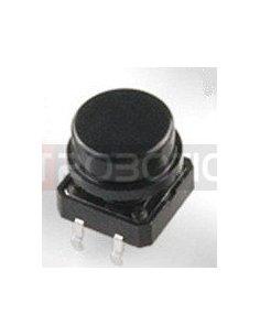 Tactile Button 12mm Black