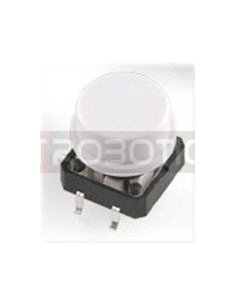 Tactile Button 12mm White