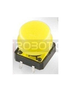 Tactile Button 12mm Yellow