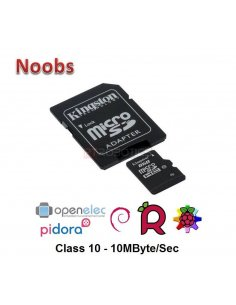 Kingston 8GB Class 10 SD card for Raspberry Pi - Noobs