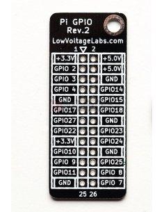 Pi GPIO Reference Board