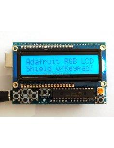 I2C LCD Shield Kit - 16x2 RGB Character Display