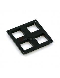 Button Pad 2x2 Top Bezel