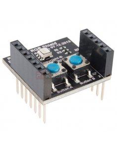 RFD22122 - RFduino - RGB/Button Shield