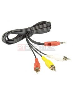 TRRS Audio and Video Cable for Raspberry Pi 1.8mt