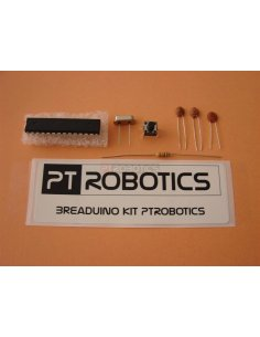 Kit Breaduino ATMEGA168 Bootloader Duemillanove