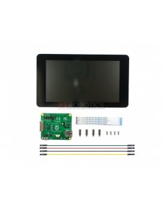 "Raspberry Pi 7"" Touch Screen Display with 10 Finger Capacitive Touch"