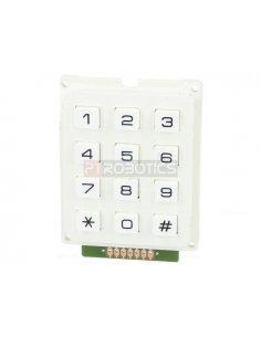 Keypad 12 button White