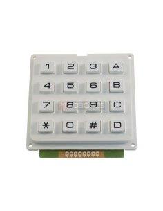 Keypad 16 button White