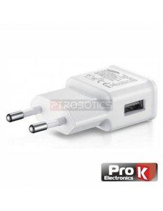 USB Compact Power Supply 5V-2A White