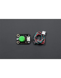 Gravity: Digital Push Button Green