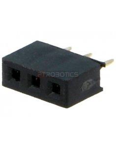 PCB Socket 3Pin 2mm Single Row
