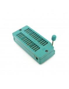 28 Pin DIP IC Test and Burn-In Socket