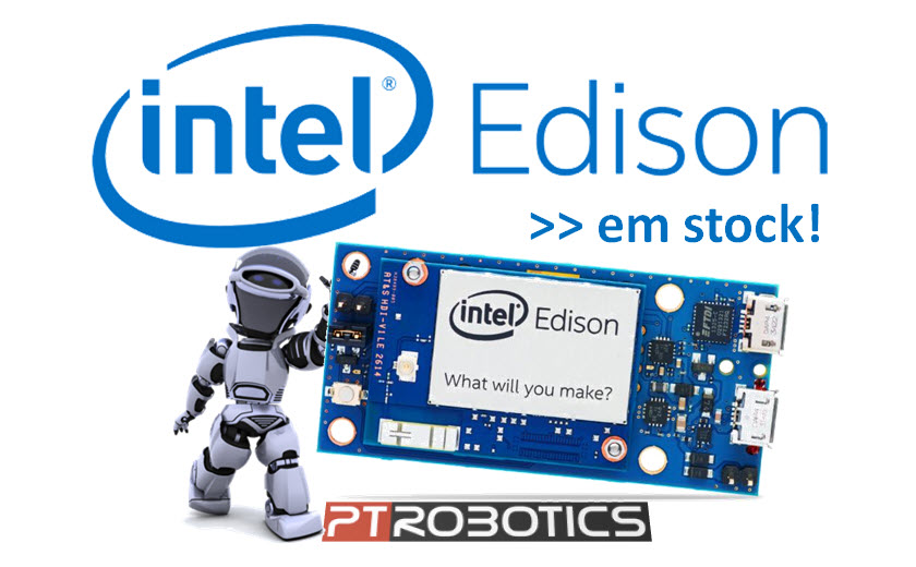 Intel Edison na PTRobotics