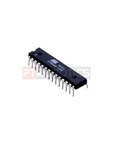 16MHZ Crystal 22pF Capacitors ATMEGA328-PU MCU Kit Matrix PCB IC Socket