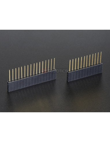 Feather Stacking Headers - 12-pin and 16-pin female headers | Feather | Adafruit