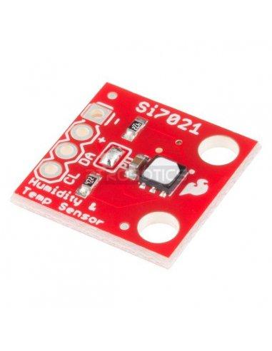 SparkFun Humidity and Temperature Sensor Breakout - Si7021 | Sensores Ópticos | Sparkfun