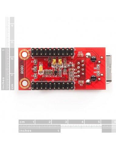 WIZnet W5100 Network Module with Mag Jack - WIZ811MJ | Conversores | Sparkfun