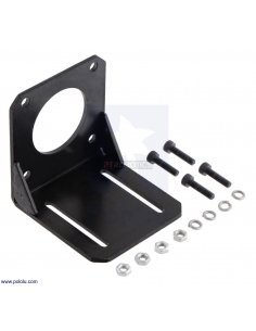 Steel L-Bracket for NEMA 23 Stepper Motors