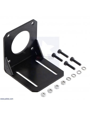 Steel L-Bracket for NEMA 23 Stepper Motors | Hub's e Suportes | Pololu