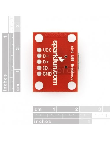 SparkFun USB Mini-B Breakout Sparkfun