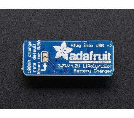 Adafruit Micro Lipo - USB LiIon LiPoly charger   Carregador de Baterias   Adafruit