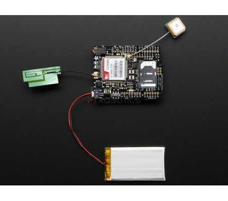 Adafruit FONA 808 Shield - Mini Cellular GSM + GPS for Arduino Adafruit
