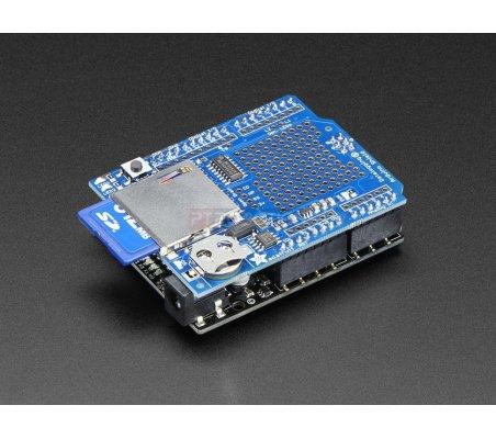 Adafruit Assembled Data Logging shield for Arduino | Shields Varios |