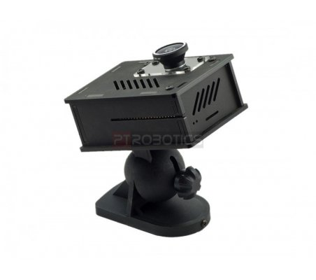 Nwazet Pi Camera Box Bundle (Case, Lens & Wall Mount) - B+/2/3 ModmyPi