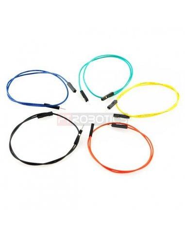 Jumper Wires Premium 12 M/F Pack of 10 | Jumper Wires |