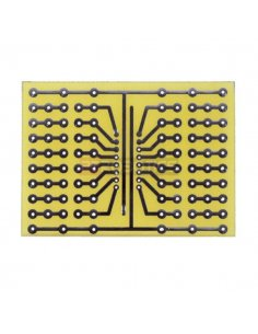 Universal prototyping board 52x72mm
