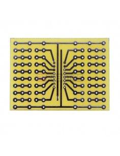 Universal prototyping board 52x72mm