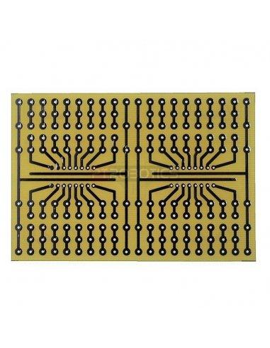 Universal prototyping board 72x105mm