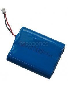 Rechargable Lipo Battery 3.7V 6600mAh with JST connector