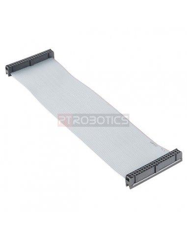 Raspberry Pi GPIO Ribbon Cable - 40-pin, 6 (RPi 3, RPi2, B+) | Cabos e adaptadores | Sparkfun
