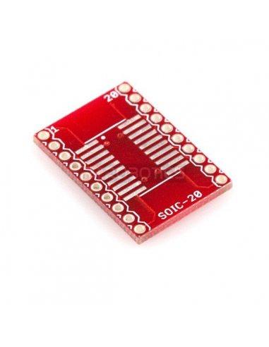 SOIC to DIP Adapter 20-Pin