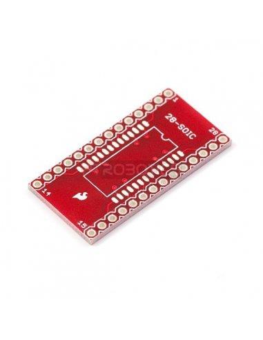 SOIC to DIP Adapter 28-Pin | PCB |