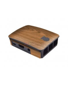Raspberry Pi Case Skins - Light Oak