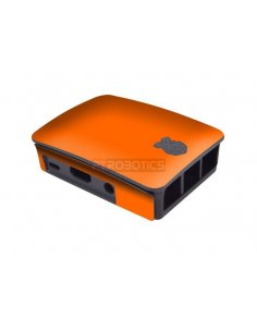 Raspberry Pi Case Skins - Orange Matt