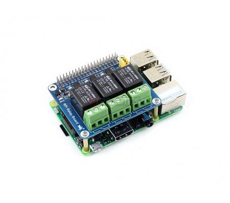 RPi Relay Board | HAT | Placas de Expansão Raspberry Pi | Waveshare