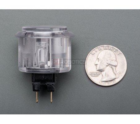 Arcade Button - 30mm Translucent White | Arcade | Adafruit