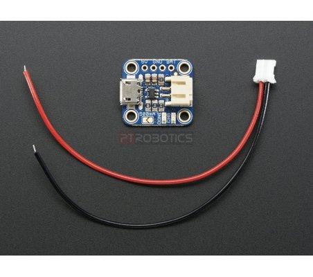 Adafruit Micro Lipo w/MicroUSB Jack - USB LiIon/LiPoly charger - v1 | Carregador de Baterias | Adafruit