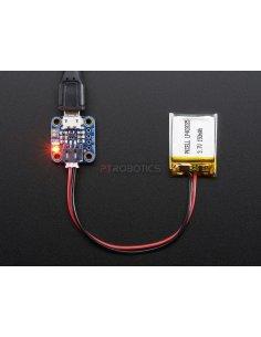 Adafruit Micro Lipo w/MicroUSB Jack - USB LiIon/LiPoly charger - v1 Adafruit