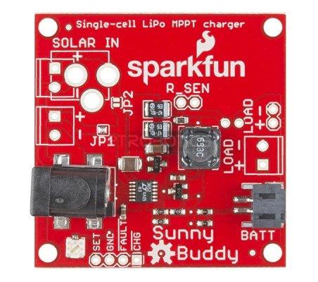 SparkFun Sunny Buddy - MPPT Solar Charger   Alimentação   Sparkfun