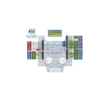 X-NUCLEO-IHM03A1 - High power stepper motor 2×15A DC Motor Driver