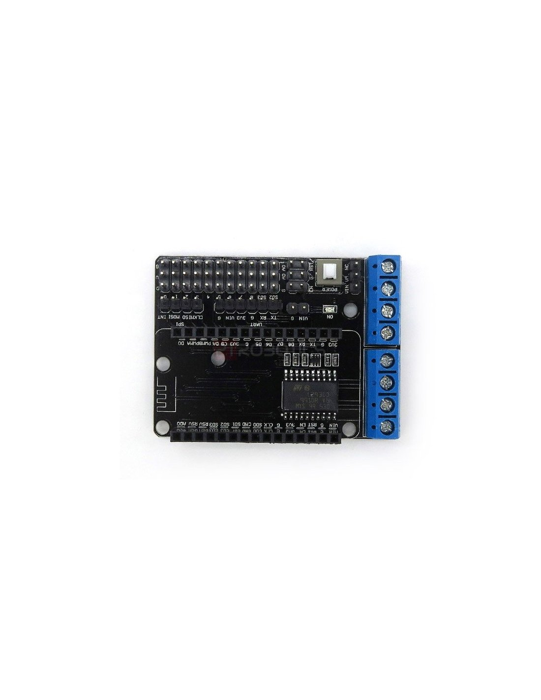 5141 L293d Wifi Motor Drive Expansion Board Shield For Arduino Nodemcu Lua Esp 12eon Arduino I O Expansion