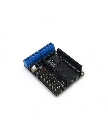 L293D WiFi Motor Drive Expansion Board Shield for Arduino NodeMcu Lua ESP-12E   Pontes H  